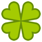 Four Leaf Clover htc emoji