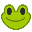 Frog Face htc emoji