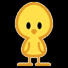 Front-facing Baby Chick htc emoji