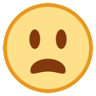 Frowning Face With Open Mouth htc emoji