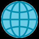 Globe With Meridians htc emoji