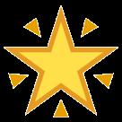 Glowing Star htc emoji