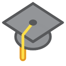 Graduation Cap htc emoji
