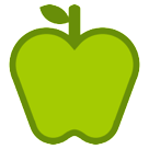 Green Apple htc emoji