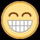 Grinning Face With Smiling Eyes htc emoji