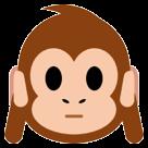 Hear-no-evil Monkey htc emoji