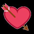 Heart With Arrow htc emoji