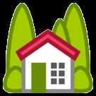 House With Garden htc emoji