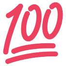 Hundred Points Symbol htc emoji
