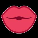 Kiss htc emoji