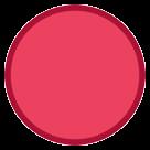 Large Red Circle htc emoji