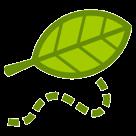 Leaf Fluttering In Wind htc emoji