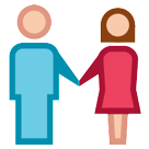 Man And Woman Holding Hands htc emoji