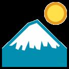 Mount Fuji htc emoji