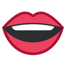 Mouth htc emoji