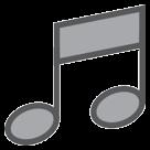 Musical Note htc emoji