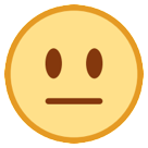 Neutral Face htc emoji
