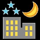 Night With Stars htc emoji
