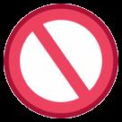 No Entry Sign htc emoji