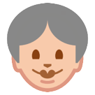 Older Woman htc emoji