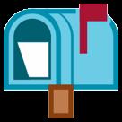 Open Mailbox With Raised Flag htc emoji