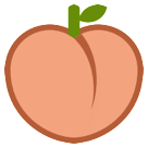 Peach htc emoji