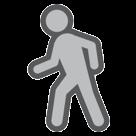 Pedestrian htc emoji