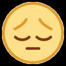 Pensive Face htc emoji