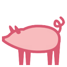Pig htc emoji