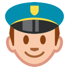 Police Officer htc emoji
