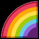 Rainbow htc emoji