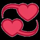 Revolving Hearts htc emoji