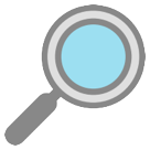Right-pointing Magnifying Glass htc emoji