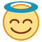 Smiling Face With Halo htc emoji