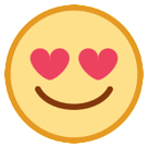 Smiling Face With Heart-shaped Eyes htc emoji