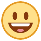 Smiling Face With Open Mouth htc emoji