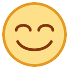 Smiling Face With Smiling Eyes htc emoji