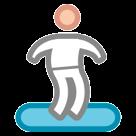 Snowboarder htc emoji