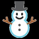 Snowman Without Snow htc emoji