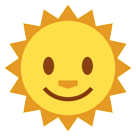 Sun With Face htc emoji