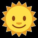 Sun With Face htc emoji