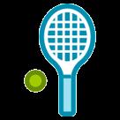 Tennis Racquet And Ball htc emoji