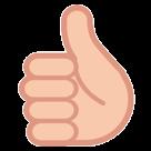 Thumbs Up Sign htc emoji