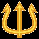 Trident Emblem htc emoji