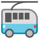 Trolleybus htc emoji