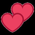 Two Hearts htc emoji