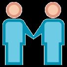 Two Men Holding Hands htc emoji