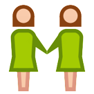 Two Women Holding Hands htc emoji