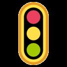 Vertical Traffic Light htc emoji