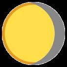 Waning Gibbous Moon Symbol htc emoji